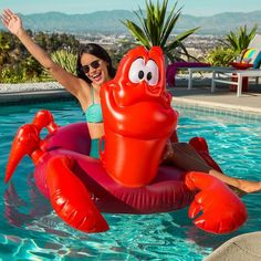 Oh My Disney has just released a 'The Little Mermaid Pool Party', which includes a couple of inflatable pool floats and some other Disneyfied summer products.