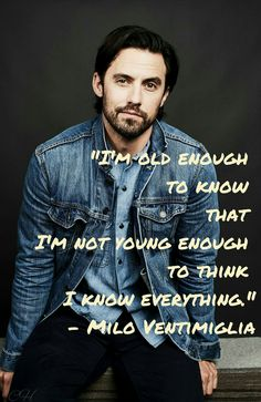 Important People, Good People, This Is Us Quotes, Me Quotes, Favorite Quotes, Favorite Tv Shows, Glimore Girls, Milo Ventimiglia, Big Three
