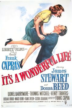 Items similar to Magnet- It's a Wonderful Life movie poster magnet James Stewart Donna Reed Frank Capra on Etsy Wonderful Life Movie, Love Movie, I Movie, It's Wonderful, Wonderfull Life, Old Movies, Vintage Movies, Vintage Posters, Old School Movies