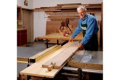 Here's a reliable way to rip straight edges onto ragged-edge boards.
