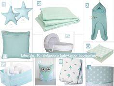10 mintgroene accessoires voor de #babykamer