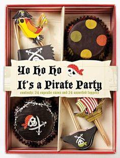 Amazon.com: Meri Meri Pirate Cupcake Kit, Makes 24: Kitchen & Dining