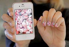 Turn Instagram photos into nail art