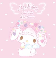 Fairytale Cottage, Sanrio Wallpaper, My Melody, Sanrio Characters, 90s Kids, Cute Drawings, Eat Cake, Fairy Tales, Hello Kitty