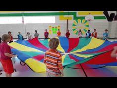 Wohlwend Elementary 5th Graders Willliam Tell Overture Parachute Routine