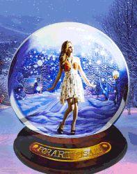 Imagination   #StreetArt #Fairy #SnowGlobe #Christmas