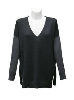 autumn-cashmere-black-v-neck-jumper-WHITESBOUTIQUE.COM