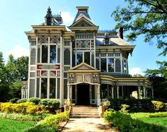 """A Painted Victorian Featured in the Upcoming Disney Movie """"The Odd Life of Timothy Green"""""""