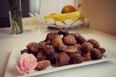 Yummy in my tummy: Ekspresowe pączusie bananowe, banana donuts :)