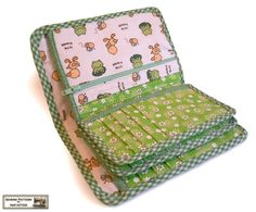Wallets sewing pattern with 27 pockets  -- PDF. $9.00, via Etsy.