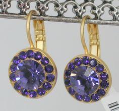 Mariana Hope Earrings NWT Tanzanite & Purple Velvet-11 Main