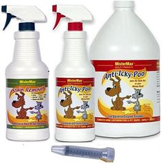 MisterMax AntiIckyPoo Starter Kit with Stain Remover quart *** Check out the image by visiting the link. This is an Amazon Affiliate links.