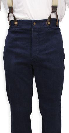 Victorian men's trousers - from Gentlemen's Emporium.