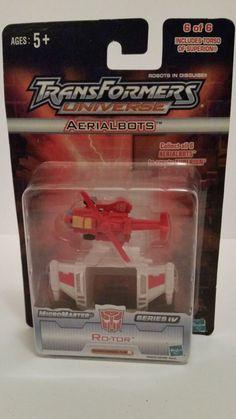 Transformers Universe Ariel Bots Ro-Tor