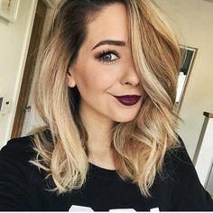 Brunette Hair, Blonde Hair, Hair Inspo, Hair Inspiration, Hair Color For Fair Skin, Zoe Sugg, All Hairstyles, Zoella, Hair 2018