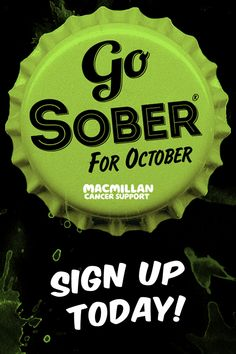 Do something amazing for people with cancer, and go Sober this October Go Sober For October, Disney Christmas Nails, October Quotes, Cancer Walk, Keep It Real, How To Raise Money, Fitness Diet, Fun Projects