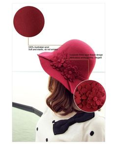Beautiful flat brim hats for summer, fashionable mens straw hats and mens hat styles of various colors and shapes provided by wdrf are your best choice for wholesale-elegant casual wool felt hat women's fedoras classic new hot sale sun hat lady dome cap pure colors popular bowler hats gorras. #HatsForWomenBowler