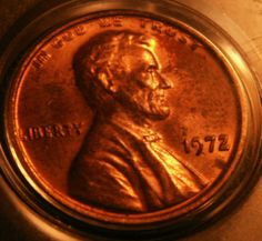 Coin Collection Estate Lot  ..1972/72 Lincoln Cent DOUBLE DIE OBV BU RB RARE  NR