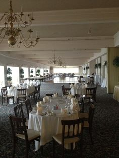 Reception venue! The Summit Inn ballroom