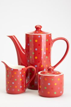 Polka Dot Tea Set