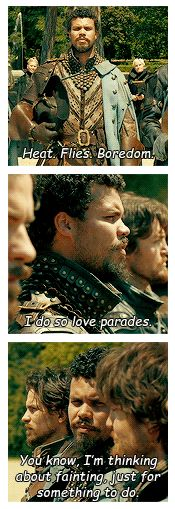 The Musketeers - Porthos Week || Day One || Favourite Quote: 'The Good Soldier [1x04]'