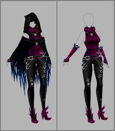 Outfit design - 89 - open by LotusLumino.deviantart.com on @deviantART