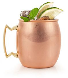 Copper Moscow Mule Mug from Culinary Apple