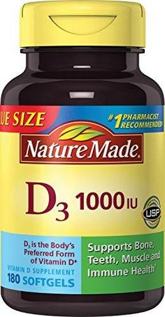 The most popular today: Nature Made Vitam... . Buy Now!!! http://merkantfy.com/products/nature-made-vitamin-d-1000-iu-value-size-supplement-180-count?utm_campaign=social_autopilot&utm_source=pin&utm_medium=pin