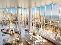 San Francisco's New Most Expensive Listing: $49 Million Lumina Penthouse