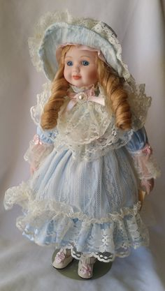 """Giselle """"Gigi"""" ~ Haunted Victorian Porcelain Doll 16"""" Sweet and Protective ~ Paranormal Doll Active Spirit Ghost Doll by FugitiveKatCreations on Etsy"""