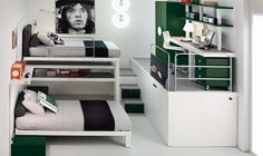 space saver ideas for futuristic small bedrooms