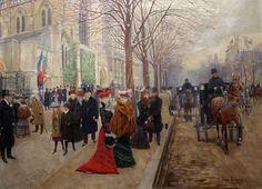 Jean Béraud | Impressionist painter of Belle Époque | Tutt'Art@