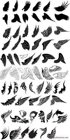Afbeeldingsresultaat voor angel wings tattoo's
