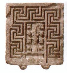 Égypte (IIe & IIIe siècle) Table égyptienne.