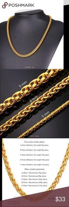 Name Necklace Sabina 18K Gold PlatedDesigner Curb Chain Bridesmaid Pendant