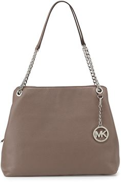 MICHAEL Michael Kors Jet Set Large Chain Shoulder Tote Bag, Cinder