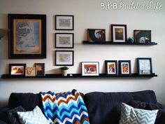 Putting Things on the Walls – Our Journey to Photo Ledges | B & B ...