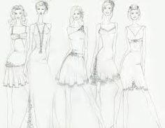 dresses sketches - Buscar con Google