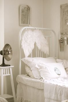 love the angel's wings.....the whole room really, except for the lamp.