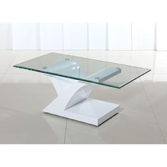 Elanor Coffee Table in White £159.95