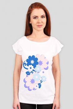 koszulka- kwiaty