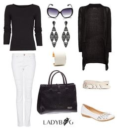 Work outfit inspiration. LADYBAG handbag is the best way to stay warm and look chic!  www.ladybag.cz