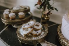 Donuts can be elegant too. Place iced donuts on gold framed mirrors for a rustic yet elegant effect. Wedding Menu, Diy Wedding, Rustic Wedding, Wedding Donuts, Award Winning Photography, Victoria Wedding, Romantic Wedding Inspiration, Island Weddings, Wedding Reception Decorations
