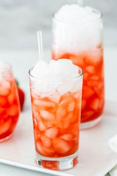 Strawberry-Lime Tom Collins - Sweet and refreshing, this strawberry cocktail is like liquid summer!