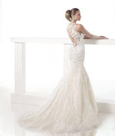 Tastefully Sexy Pronovias Wedding Dresses 2015 Fall Collection: http://www.modwedding.com/2014/10/22/tastefully-sexy-pronovias-wedding-dresses-2015-fall-collection/ #wedding #weddings #wedding_dress