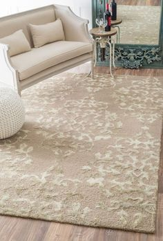 $5 Off when you share! Butterfly Valley SM31 Pink Rug #RugsUSA