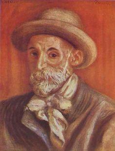 "Pierre Auguste Renoir: ""Self-portrait"" 1910"