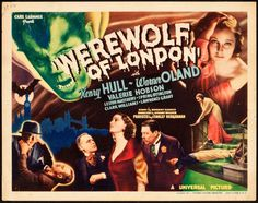 May 13 - Opened on this date in 1935: Werewolf of London. #universalhorror
