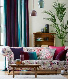 #Harlequin - tissu Paradise collection Amazilia - Harlequin - http://www.harlequin.uk.com/
