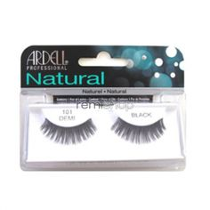 Ardell Natural 101  - Color Black - Strip Natural Style Eyelashes
